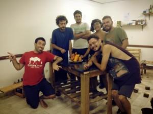 Parte del equipo del HackLab ;)